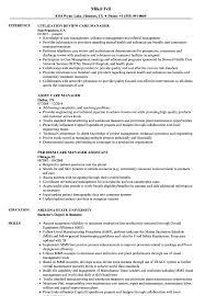 Care Manager Care Manager Resume Samples Velvet Jobs