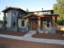 modern craftsman house colors