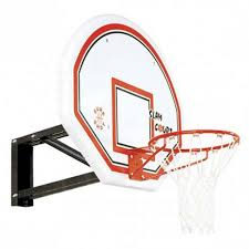 adjustable wall mounted basketball