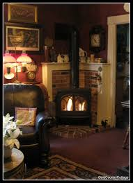 Wood Stove Living Room Design Decorating Corner Wood Stove Have A Fireplace Just Like This