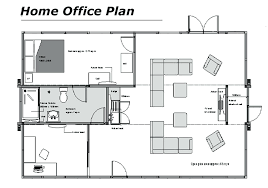 small office furniture layout. Home Office Furniture Layout Small Wonderful Floor Plan
