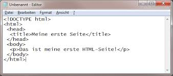 Erstellen und Testen von HTML-Seiten - webtechnologien.com