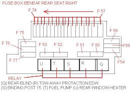 fuse chart page mercedes benz forum click image for larger version rear seat fuse box jpg views 133146