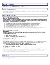 Retail Associate Job Description Awesome Customer Service Associate Job Description Resume Retail Salesperson