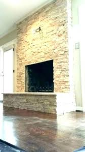 dry stack fireplace installing stacked stone veneer tiles for install diy electric firep