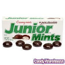 mint chocolate candy brands. Brilliant Mint Junior Mints Candy 184Ounce Packsu002658 24Piece Box On Mint Chocolate Brands 0