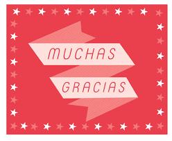 Tarjetas Para Dar Las Gracias Manualidades