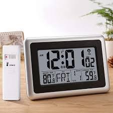 digital atomic wall clock desk alarm