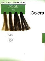 Essensity Colour Chart Essensity Oil In Cream Organic Ammonia Free Regular Color