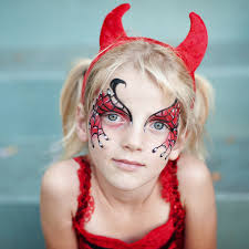 cute devil face paint recent photos the mons getty collection galleries world map app makeup for