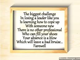 Farewell Poems for Boss: Goodbye Poems   Sms Text Messages via Relatably.com