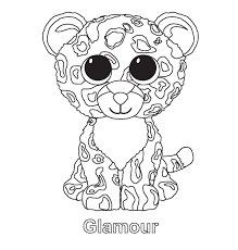 Small Picture Ty beanie boo coloring pages download and print for free aniver