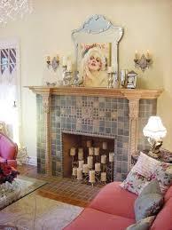 diy fake fireplace effect
