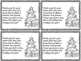 Holiday Thank You Notes Elementary Teacher Classroom Holiday
