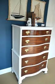 two tone painted furniture. Luxury 2 Tone Dresser Two Toned Best Ideas On Stained . Painted Furniture F