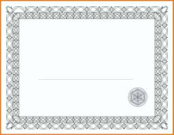 Award Certificate Template Gold Border Copy Microsoft Word ...