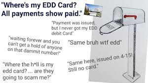 About your edd debit card. Edd Card Where Is My Edd Card All Payments Show As Paid Youtube
