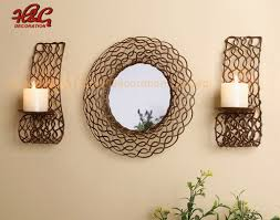 brown wall sconce candle holder with