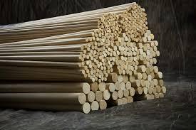 cincinnati dowel wood products 48 long dowels 1 2 x 48 wood dowels