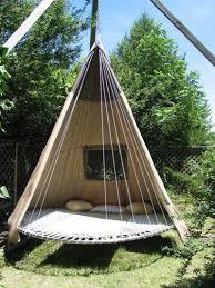 Round Hammock Bed Swing