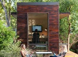 tiny backyard home office. Tiny Backyard Home Office With Deck And Table 2015 Fresh Faces