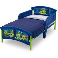 Teenage Mutant Ninja Turtles Plastic Toddler Bed Walmartcom