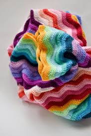 attic 24 blankets. neat ripple blanket pattern is free from lucy attic 24 blankets