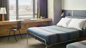 Who makes metal bed frames like this one from the Ace Hotel chicago ...