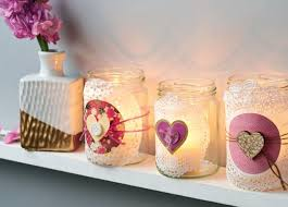 Decorating Jam Jars For Candles Create a gorgeous light display with this jar jam candle holders 1