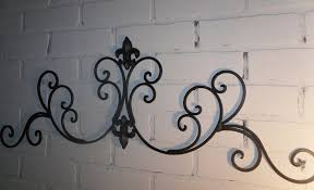 Small Picture Great Garden Wrought Iron Decor Wrought Iron Wall Designs Home And