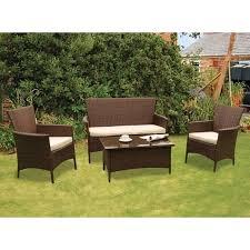 garden sofa set rattan. kendal rattan 4 piece conservatory set garden furniture sofa a