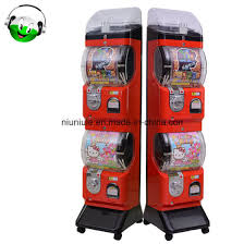 Coin Operated Vending Machine Unique China Novelty Design Coin Operated Capsule Toy Station Standing