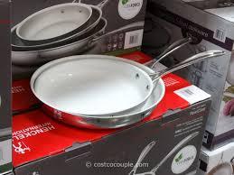costco non stick pans. Plain Pans JA Henckles 3Piece RealClad Fry Pans Costco 2 Instead Of A Teflon Coating   Throughout Non Stick R