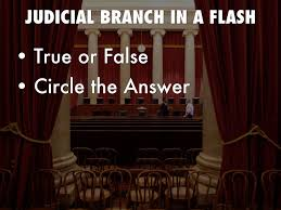 Distribute one judicial branch in a flash! reading page to each student. Judicial Branch Government And Politics By A Faulkner