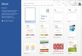 Office 2013 Word Templates I Want Word To Open A Normal Blank Template Upon Launch Not Ask Me