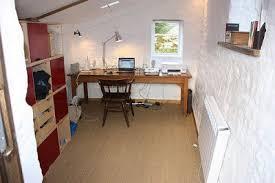 convert shed to office. convert shed to office