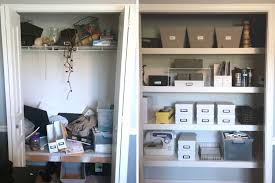 office closet shelving. Closet Organizing Before And Afters // Office Decluttering Transformation Shelving S