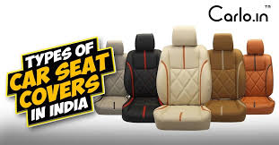 types of car seat covers in india