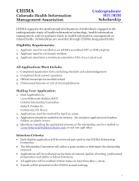 Health Science Student Resume Undergraduate Resume Template Computer