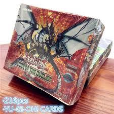 <b>216</b> pcs 24*9 <b>Yugioh Cards</b> English Version Family <b>Yu-Gi-Oh</b> Duel ...