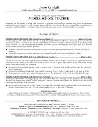 How To Write A Perfect Teaching Resume Examples Included High School