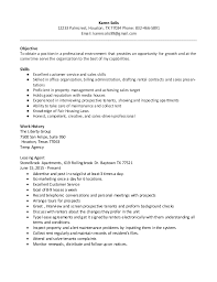 cover letter for leasing consultant no experience real estate resume  samples - Leasing Professional Resume