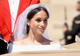 meghan markle the ss of sus on her wedding day with makeup by