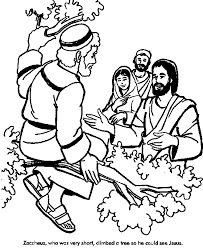 He was curious about jesus and wanted to see him. 15 Printable Zacchaeus Tree Coloring Pages For Kids Coloring Pages Zacchaeus Bible Story Crafts Sunday School Coloring Pages