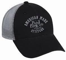 my favorite bad boy mower bling hat bad boy apparel bad boy mowers hat in black