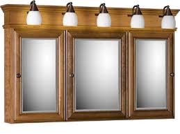 bathroom medicine cabinets. Elegant Medicine Cabinet With Lights Within Strasser Tri View Three. Bathroom Cabinets