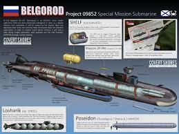 Belgorod: il sottomarino nucleare russo che fa tremare il mondo - Periodico  Daily