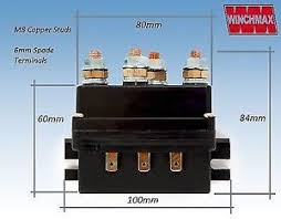 winch solenoid v heavy duty upgrade image is loading winch solenoid 12v heavy duty upgrade