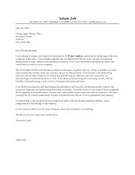 Bunch Ideas Of Chemist Cover Letter Sample Resume Chemistry Letters