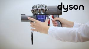 Dyson Dc59 Red Light Blinking Dyson V6 Cord Free Vacuums Replacing The Clear Bin Uk